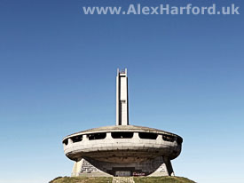 Communist House Monument on Mt. Buzludzha