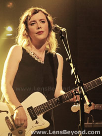 Rachel Goswell of Slowdive