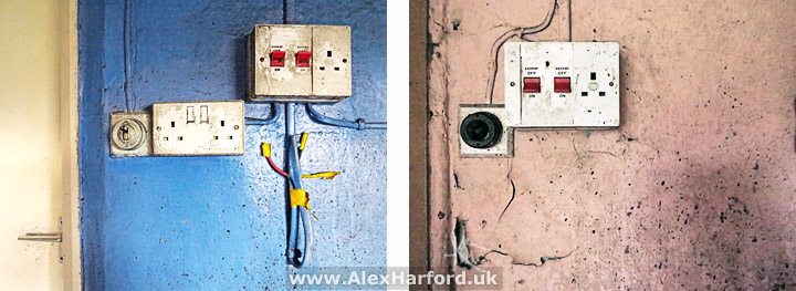 House Wiring Looking At Light Switches