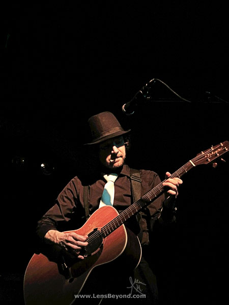 Chris Johnson and acoustic guitar