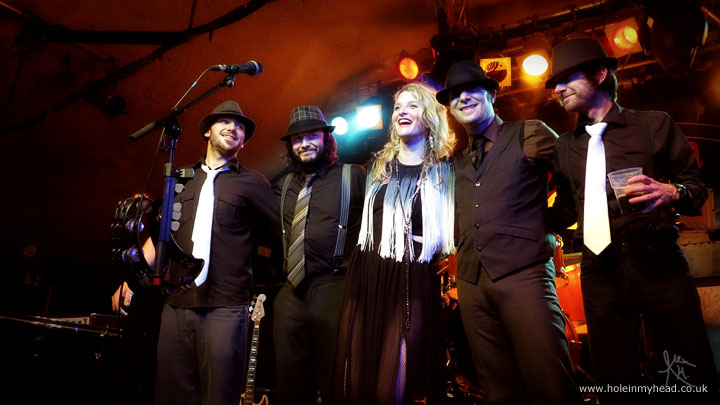 The Heather Findlay Band say goodbye