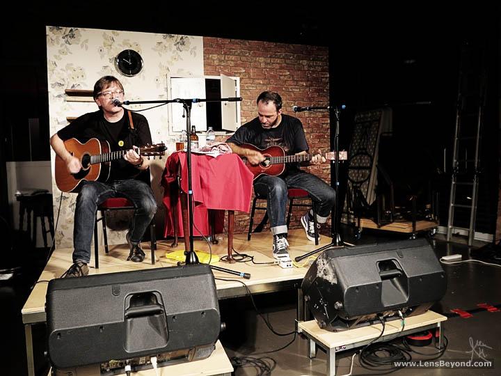 The New Mendicants' Norman Blake and Joe Pernice