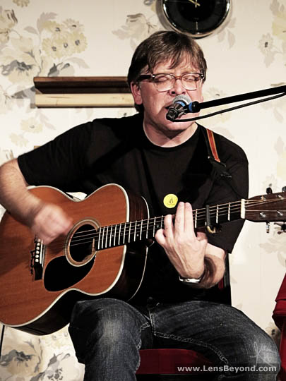 Norman Blake at the Anthony Burgess Institute, Manchester