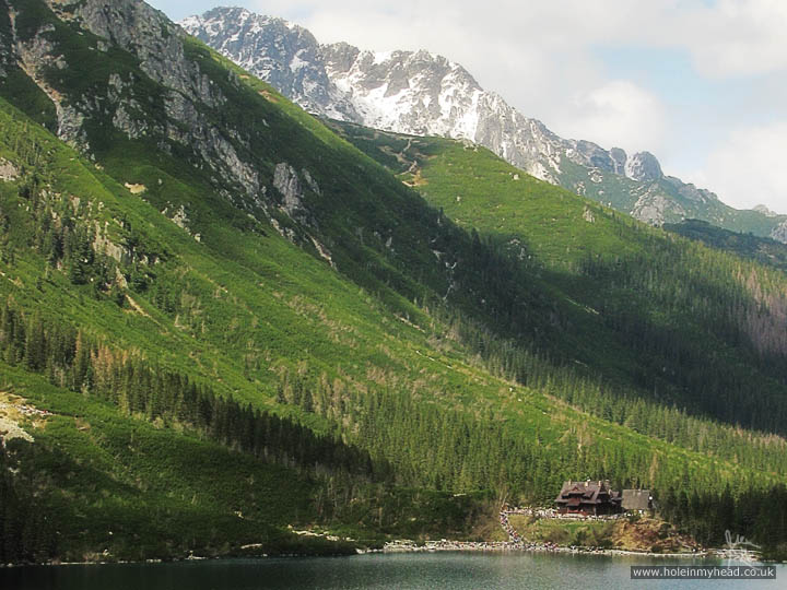 Lake hut, Morskie Oko