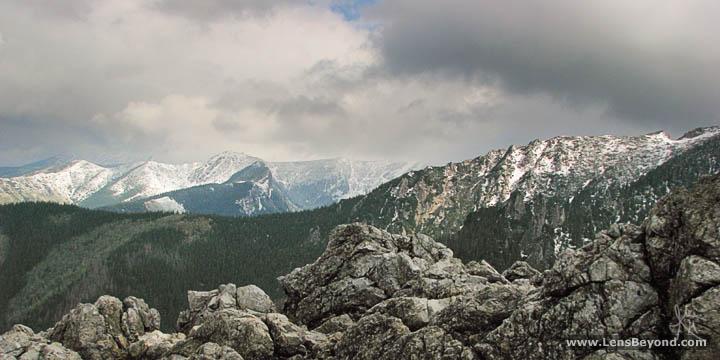 View from Sarnia Skala, Tatra Mountains