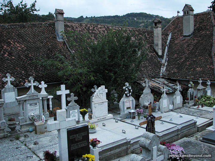 Graveyard at St. Nicholas Orthodox Church