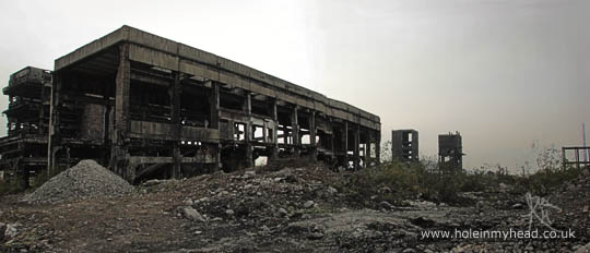 More remains of the Carbosin factory