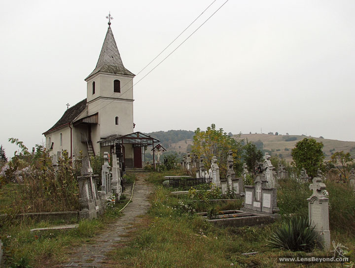 Church in Copsa Mica, Romania