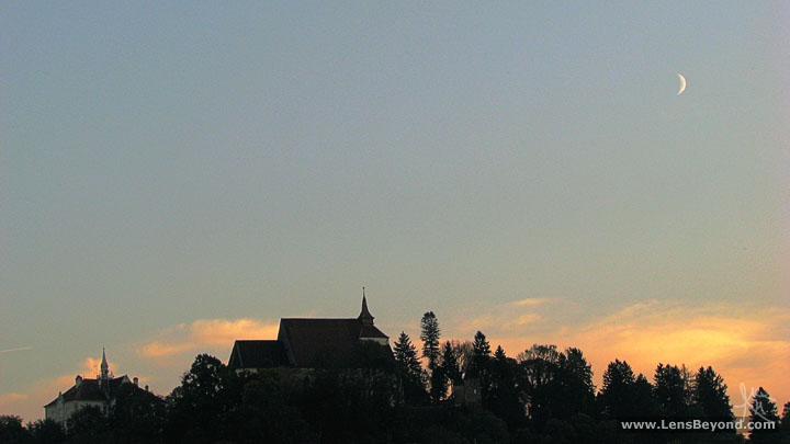 Photo of Church on the Hill sunset, Sighişoara, by Alex Harford