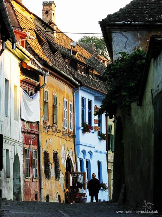 Monastery Street, Sighişoara