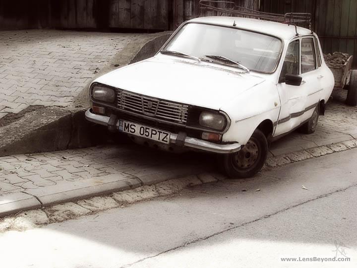 Old Talbot car
