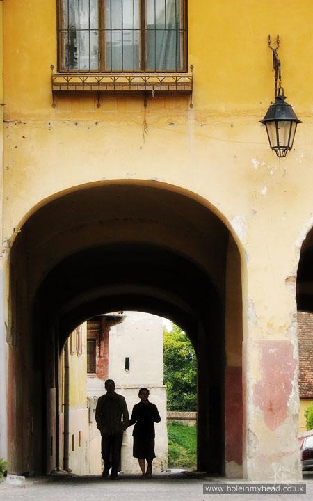 Alley from Piata Cetatii (Citadel Square)