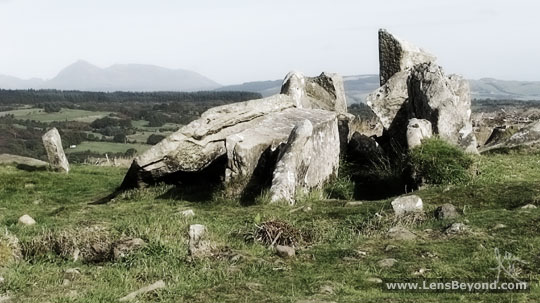 Giants' Graves, a jumble of large stones