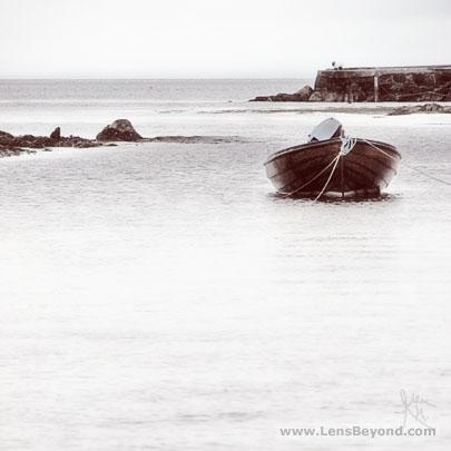 Boat in Sannox Bay