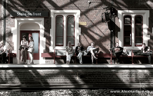 Platform 2, Stoke Train Station