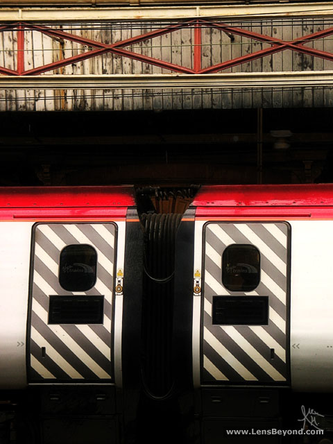 Virgin Train Abstract