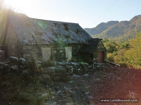 Abandoned church in Cornel, next to Llyn Crafnant