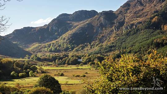Photo of Crimpiau and Craig Wen (I think?), Snowdonia National Park