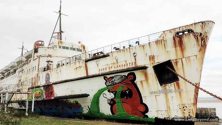 The Duke of Lancaster, Wales