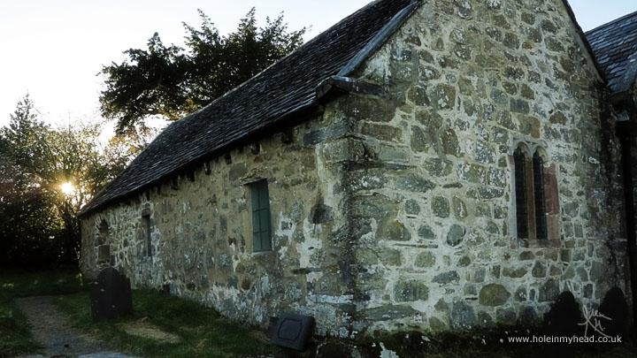 Llanrhychwyn (AKA Llewelyn's) church, Snowdonia, Wales