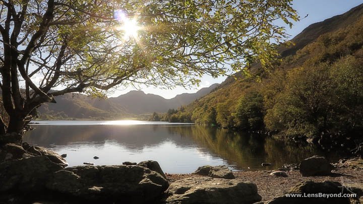 Llyn Crafnant, looking towards Crimpiau, Snowdonia National Park