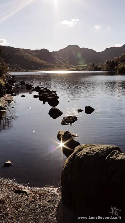 Photo of Llyn Crafnant Reservoir, looking towards Crimpiau, Snowdonia National Park