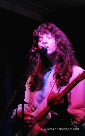 Molly Hamilton, guitarist and vocalist from Widowspeak