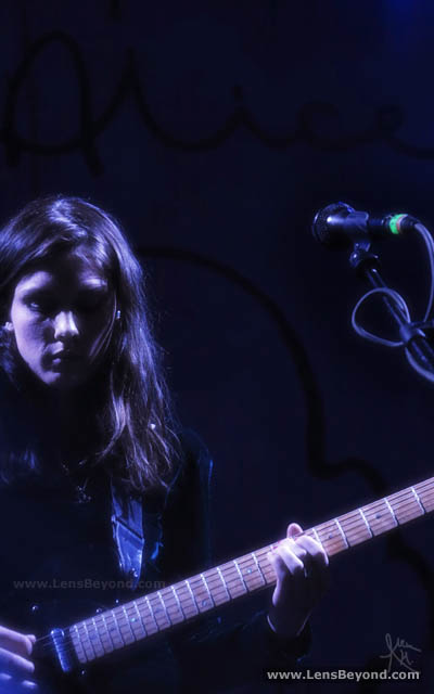 Ellie Rowsell in dark